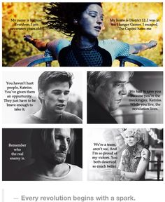 Hunger Games Character Quotes