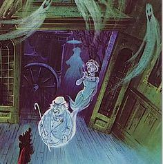 haunted mansion Disney Love, Disney Magic, Haunted Mansion, Haunted Castles, Disney Rides, Disney Parks, Halloween House, Disneyland Halloween, Vintage Halloween