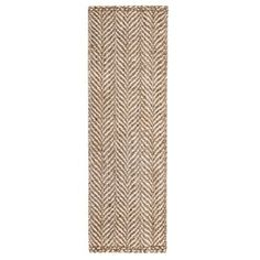 Jani Sandscape Natural Jute Handwoven Rug (2'6x 8') | Overstock.com Shopping - The Best Deals on Runner Rugs