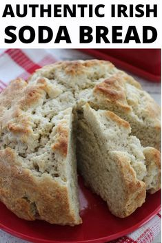 This Original Irish Soda Bread Recipe Is Sure To Be A Hit At Your Home Tonight. Despite What You Choose To Make For Dinner, This Plain Irish Soda Bread Recipe Is The Perfect Addition To Any Authentic Irish Meal Or St. Irish Bread, Bread Machine Irish Soda Bread Recipe, Irish Soda Bread Recipes, Baking Soda Bread Recipe, Moist Irish Soda Bread Recipe, Best Soda Bread Recipe, Easy Irish Recipes, Easy Bread Recipes, Traditional Irish Soda Bread