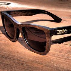 dřevěné sluneční brýle Propus od TimeWood
