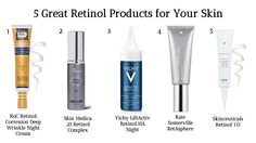 Retinol is hands-down the best anti-aging topical all-star there is. Learn more about the 5 best OTC products you can buy to get your skin in its best shape ever.