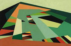 KARL BENJAMIN Chino Hills, 1957