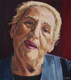 Ceija Stojka // Gypsy writer and painter.