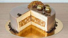 Мой любимый муссовый торт Яблоки в карамели. Состоит всего из трех слоев, но сочетание яблочного конфи и карамельного мусса очень органично и изысканно. Минд...