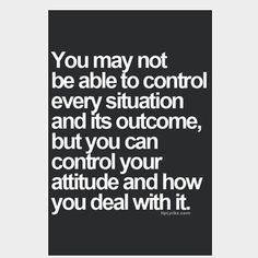 Attitude controls your life. Have a good one!  #pkw