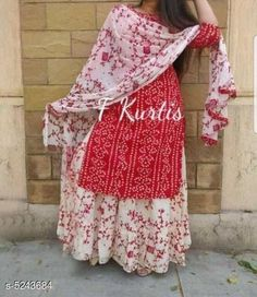 Checkout this latest Dupatta Sets Product Name: *Women's Printed White Rayon Kurta Set with Skirt* Kurta Fabric: Rayon Fabric: Rayon Bottomwear Fabric: Rayon Sleeve Length: Three-Quarter Sleeves Pattern: Printed Set Type: Kurta with Dupatta and Bottomwear Stitch Type: Stitched Multipack: Single Sizes:  S, M (Bust Size: 38 in, Bottom Waist Size: 30 in, Bottom Length Size: 38 in)  L (Bust Size: 40 in, Bottom Waist Size: 32 in, Bottom Length Size: 38 in)  XL (Bust Size: 42 in, Bottom Waist Size: 34 in, Bottom Length Size: 38 in)  XXL (Bust Size: 44 in, Bottom Waist Size: 36 in, Bottom Length Size: 38 in)  XXXL Country of Origin: India Easy Returns Available In Case Of Any Issue   Catalog Rating: ★4.1 (3678)  Catalog Name: Women Rayon A-line Printed Skirt Dupatta Set CatalogID_777013 C74-SC1853 Code: 246-5243684-7071