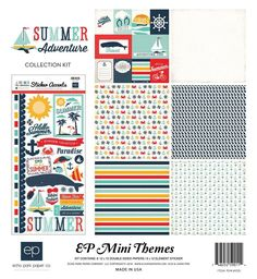 Echo Park Summer Adventure 12x12 Collection Kit
