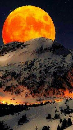 The moon phenomenon on 14 November 2016 seen here from Nepal