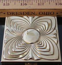 Vintage Goldtone Volupte Vanity Case Compact