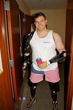 When this guy says he would do anything to protect America, he means it.
