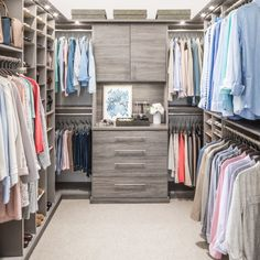 Schedule your free in-home design consultation with Inspired Closets Get up to 500 off your next project Limited savings until 1 31 20 for National Get Organized Month Our products are backed by a Limited Lifetime Warranty and Satisfaction Guarantee Walk In Closet Design, Bedroom Closet Design, Master Bedroom Closet, Closet Designs, Diy Walk In Closet, Teen Closet, Walk Through Closet, Glam Closet, Modern Closet