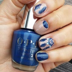 Channel your inner artist when you recreate this gorgeous nail art design. Be sure to check out OPI Infinite Shine System to make your precious nail art last up to 10 days.