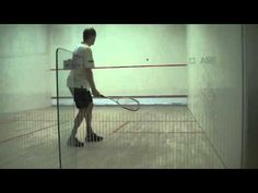 Squash solodrills 21-30 for Beginners/advanced Beginners: rallying - YouTube