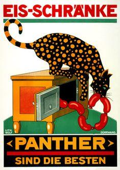 Panther Ice-Box   http://www.vintagevenus.com.au/products/vintage_poster_print-pr250