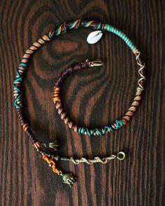 Bohemian Hairjewelry. Hairwrap by DiKARiCrafts