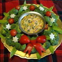 veggie wreath @Julie Forrest Forrest Forrest Forrest Saathoff thought of you