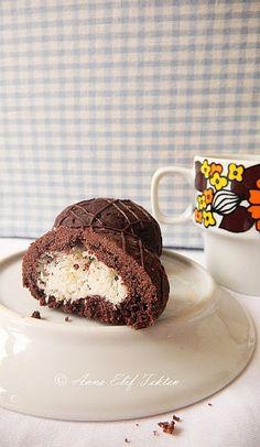 Ízmorzsák Elif módra: Kokostar - kókusszal töltött kakaós golyóbisok Muffin, Breakfast, Cake, Drink, Morning Coffee, Beverage, Kuchen, Muffins, Cupcakes