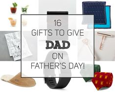 16 Gifts to Give Dad this Father's Day! - The Craftables Fathers Day, Dads, Gifts, Stuff To Buy, Presents, Fathers, Father's Day, Gifs, Daddy