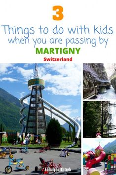 If you and your family are passing by Martigny in the canton of Valais and only have a few hours to spend, what are there to do for the whole family? I would suggest you to have a walk through the … Travel Guides, Travel Tips, Travel Around The World, Around The Worlds, Stuff To Do, Things To Do, European Road Trip, Web Design, Visit Switzerland