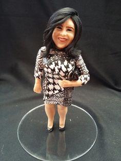 Figura personalizada modelada en biscuit