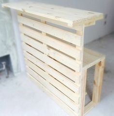 Chest of Drawers from Wooden Pallets - Woodworking Finest