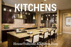 Kitchen Design, Organization, Decoration And Inspiration. Kb Homes, New  Homes For Sale