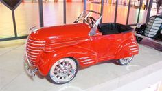 This 1939 Auburn Pioneer Roadster by American National was restored by McLaren Classic Restoration with Ostrich skin seats and working lights. It sold for $16,675 as part of Barrett-Jackson's sale of the Pratte Collection.