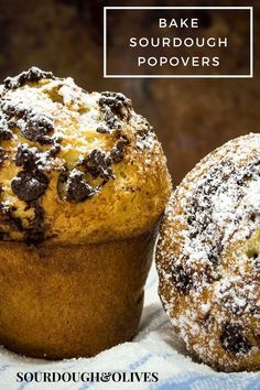 Make use of your sourdough starter discard and make some sourdough popovers. It's so easy and incredibly delicious. Sourdough Bread, Daily Bread, All You Need Is, Bread Recipes, Baking Soda, Muffin, Easy Meals, Tasty, Treats