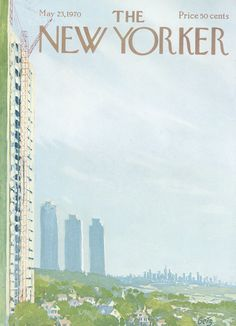 The New Yorker - Saturday, May 23, 1970 - Issue # 2362 - Vol. 46 - N° 14 - Cover by : Arthur Getz
