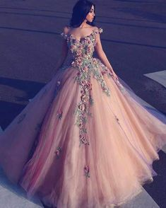 Prom Dress Princess, Champagne off shoulder tulle long prom dress, tulle champagne evening dress Shop ball gown prom dresses and gowns and become a princess on prom night. prom ball gowns in every size, from juniors to plus size. Ball Gowns Prom, A Line Prom Dresses, Tulle Prom Dress, Modest Dresses, Ball Dresses, Pretty Dresses, 15 Dresses, Party Dress, Wedding Dresses