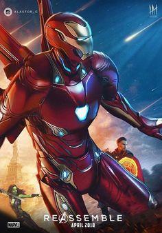 Infinity War Iron Man fan art!