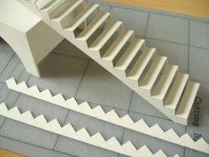 Escalera miniatura