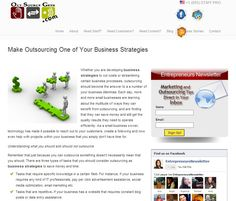 Make Outsourcing One of Your Business Strategies Entrepreneur, Marketing, Business, Blog, How To Make, Blogging, Store, Business Illustration