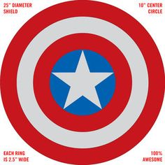 It's hard to believe that one of my first Instructables was in 2011 and it was the WWII Captain America shield created from the back of a damaged theater seat.And,...