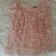 FINAL PRICE American Eagle flutter top Bought this last year and never wore it American Eagle Outfitters Tops