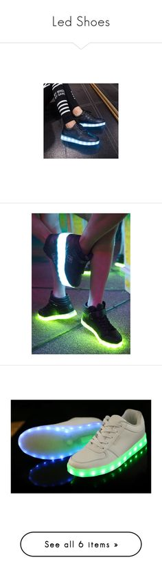 """Led Shoes"" by claudcsilva ❤ liked on Polyvore featuring shoes, sneakers, footware, short heel shoes, low heel shoes, black platform sneakers, low heel platform shoes, black small heel shoes, high top velcro shoes and velcro shoes"