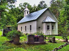Cades Cove Missionary Baptist Church Photograph