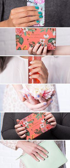 Calling it now! These are the 5 nail polish colors you'll be wearing all spring. Learn more and get yours today. Cute Nail Polish, Nail Polish Colors, Nail Polishes, Short Nail Manicure, Manicure And Pedicure, Nail Palace, Wedding Acrylic Nails, Matte Nails, Em Nails