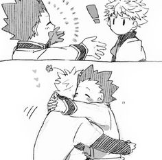 Gon and Killua ~ they're too cute ok?? Their friendship is the best!