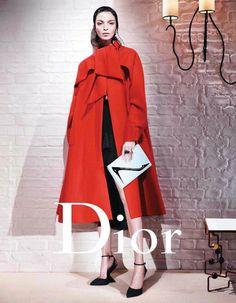 Mariacarla Boscono for Dior FW13 by Willy Vanderperre