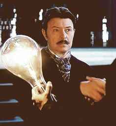 """David BowieBowie as Tesla in """"The Prestige"""""""