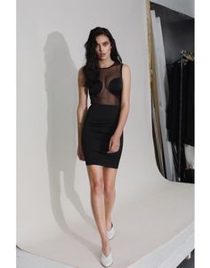 Available now for delivery Satin dress with see-through mesh detailing. Satin Dresses, Shells, Mesh, Two Piece Skirt Set, Bodycon Dress, Feminine, Spring Summer, Skirts, Collection
