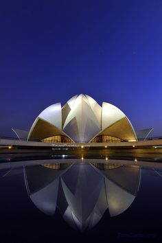 Baha'i House of Worship, New Delhi, India
