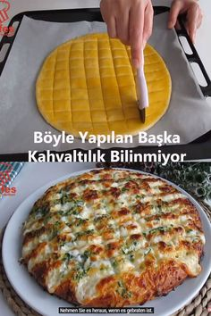 Turkish Recipes, Hawaiian Pizza, Frozen Yogurt, Food Design, Food Preparation, Waffles, Bakery, Food Porn, Brunch