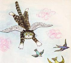 Vintage Kids' Books My Kid Loves: Mog the forgetful cat