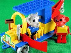 Custom Sticker Autocollant pour LEGO fabuland set 344 Service Station Maison Intérieur