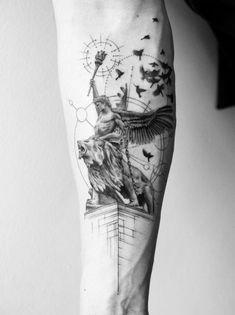 40 stunning black and gray tattoos - Doozy List - tattoo with be . - 40 stunning black and gray tattoos – Doozy List – meaningful word tattoo – # stunning - Unique Tattoos, Beautiful Tattoos, Small Tattoos, Tattoos For Guys, Wörter Tattoos, Body Art Tattoos, Portrait Tattoos, Watch Tattoos, Galaxy Tattoos