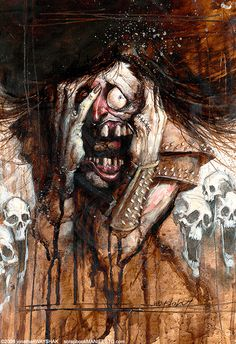 The Screamer by Jon Wayshak
