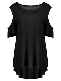 SHARE & Get it FREE | High Low Cold Shoulder TeeFor Fashion Lovers only:80,000+ Items • New Arrivals Daily • Affordable Casual to Chic for Every Occasion Join Sammydress: Get YOUR $50 NOW!